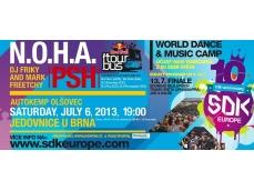 N.O.H.A / PSH / DJ FRIKY a MARK FREETCHY / DJ RENEGADE // SDK.EUROPE Red Bull Tourbus